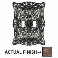 Carpe Diem Hardware - Acanthus - Double Toggle in Chalice