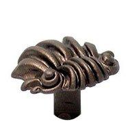 Carpe Diem Hardware - Aphrodite - Small Shell Knob in Cobblestone