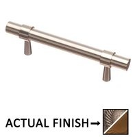 """Colonial Bronze - Pulls - 3"""" Centers Pull in Distressed Pewter and Distressed Oil Rubbed Bronze"""