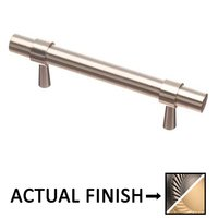"Colonial Bronze - Pulls - 3"" Centers Pull in Matte Pewter and Satin Nickel"