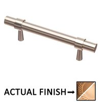"""Colonial Bronze - Pulls - 3 1/2"""" Centers Pull in Light Statuary Bronze and Satin Bronze"""