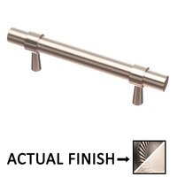 """Colonial Bronze - Pulls - 3 1/2"""" Centers Pull in Matte Pewter and Oil Rubbed Bronze"""