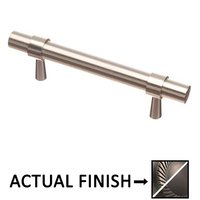 "Colonial Bronze - Pulls - 3 1/2"" Centers Pull in Matte Pewter and Oil Rubbed Bronze"