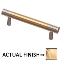 """Colonial Bronze - Pulls - 3"""" Centers Pull in Satin Brass and Oil Rubbed Bronze"""
