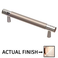 """Colonial Bronze - Pulls - 3 1/2"""" Centers Pull in Polished Copper and Satin Nickel"""