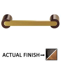 """Colonial Bronze - Pulls - 3 1/2"""" Centers Pull in Satin Black and Satin Bronze"""