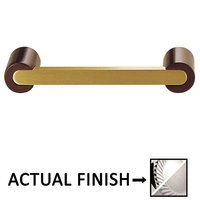 """Colonial Bronze - Pulls - 3 1/2"""" Centers Pull in Polished Chrome and Satin Nickel"""