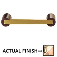 "Colonial Bronze - Pulls - 3 1/2"" Centers Pull in Polished Brass and Satin Bronze"