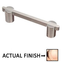 """Colonial Bronze - Pulls - 3 1/2"""" Centers Pull in Polished Copper and Antique Copper"""