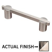 """Colonial Bronze - Pulls - 3 1/2"""" Centers Pull in Matte Pewter and Satin Nickel"""