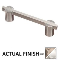"""Colonial Bronze - Pulls - 3 1/2"""" Centers Pull in Matte Satin Nickel and Polished Nickel"""