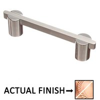 """Colonial Bronze - Pulls - 3 1/2"""" Centers Pull in Satin Copper and Satin Bronze"""
