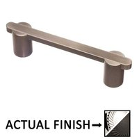 """Colonial Bronze - Pulls - 3 1/2"""" Centers Pull in Satin Chrome and Antique Copper"""