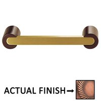 """Colonial Bronze - Pulls - 3"""" Centers Pull in Matte Antique Copper and Satin Nickel"""