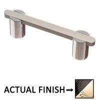 """Colonial Bronze - Pulls - 3"""" Centers Pull in Satin Black and Satin Nickel"""