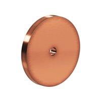 "Colonial Bronze - Knobs - 2 1/2"" Diameter Backplate In Satin Bronze"