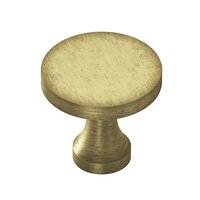 "Colonial Bronze - Knobs - 1 1/8"" Knob In Satin Bronze"