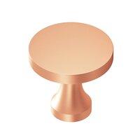 "Colonial Bronze - Knobs - 1 1/2"" Knob In Satin Bronze"
