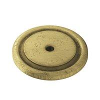 "Colonial Bronze - Knobs - 1 3/4"" Diameter Rose In Satin Bronze"