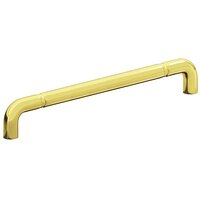 "Colonial Bronze - Appliance Pulls - 12"" Centers Beaded Thru Bolt Pull in Satin Bronze"