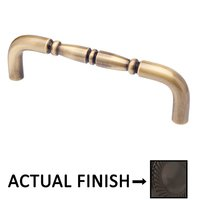"Colonial Bronze - Appliance Pulls - 8"" Centers Traditional Surface Mount Pull in Satin Bronze"