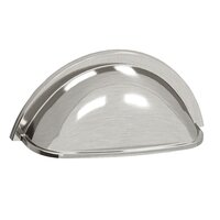 """Colonial Bronze - Pulls - 3"""" Centers Round Cup Pull in Satin Bronze"""