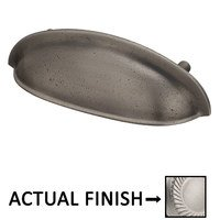 """Colonial Bronze - Pulls - 3"""" Centers Oval Cup Pull in Satin Bronze"""