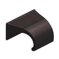 """Colonial Bronze - Antimicrobial Agion Pulls - 1 1/2"""" Centers Pull in Satin Brass"""