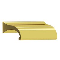 "Colonial Bronze - Pulls - 3 1/2"" Centers Pull in Satin Bronze"