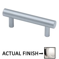 """Colonial Bronze - Pulls - 1 1/2"""" Centers Shank Pull in Polished Nickel"""