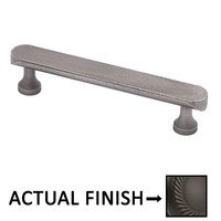 """Colonial Bronze - Antimicrobial Agion Pulls - 3 1/2"""" Centers Pull in Satin Brass"""