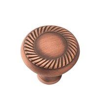 "Colonial Bronze - Arlington - 1 1/4"" Rope Knob In Satin Bronze"