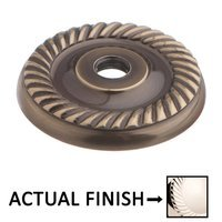"Colonial Bronze - Arlington - 1 1/4"" Rope Rose In Satin Bronze"