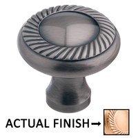 "Colonial Bronze - Arlington - 1 1/2"" Rope Knob In Satin Bronze"