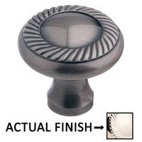 "Colonial Bronze - Arlington - 1 1/2"" Rope Knob In Satin Bronze"
