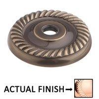 """Colonial Bronze - Arlington - 1 5/8"""" Rope Rose In Satin Bronze"""