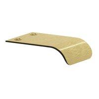 "Colonial Bronze - Pulls - 1 1/2"" Long Edge Pull in Satin Bronze"