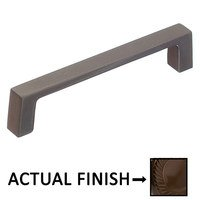 """Colonial Bronze - Pulls - 4"""" Centers Rectangular pull in Oil Rubbed Bronze"""