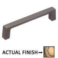 "Colonial Bronze - Pulls - 4"" Centers Rectangular pull in Oil Rubbed Bronze"