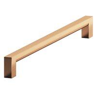 "Colonial Bronze - Pulls - 8"" Centers Rectangular Pull in Satin Bronze"
