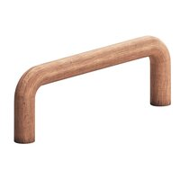 "Colonial Bronze - Antimicrobial Agion Pulls - 2 1/2"" Centers Wire Pull in Satin Brass"