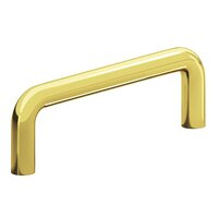 "Colonial Bronze - Pulls - 4"" Centers Wire Pull in Satin Bronze"