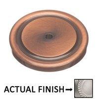 "Colonial Bronze - Knobs - 1 1/2"" Diameter Rose In Satin Bronze"