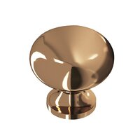 """Colonial Bronze - Knobs - 1 1/4"""" Knob In Unlacquered Oil Rubbed Bronze"""