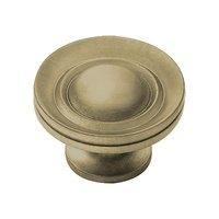 "Classic Brass - Hutter Classic - 3/4"" Diameter Knob in Antique Polished Silver"