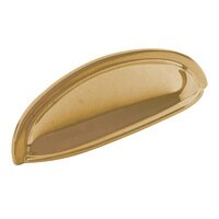 "Classic Brass - Hutter Classic - 3"" Centers Small Cup Pull in Antique Polished Silver"