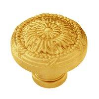 "Classic Brass - St. Georges - 1 1/4"" Diameter Knob in Antique Brass"