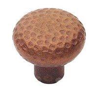 """Classic Brass - Arts & Crafts - 1 3/8"""" Diameter Knob in Natural Bronze"""