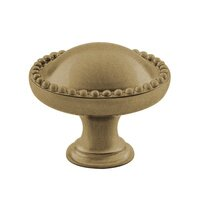 "Classic Brass - Savannah - 1 1/2"" Diameter Knob in Antique Brass"