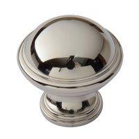 """Classic Brass - Hutter Classic - 1 1/4"""" Diameter Knob in Antique Brass"""